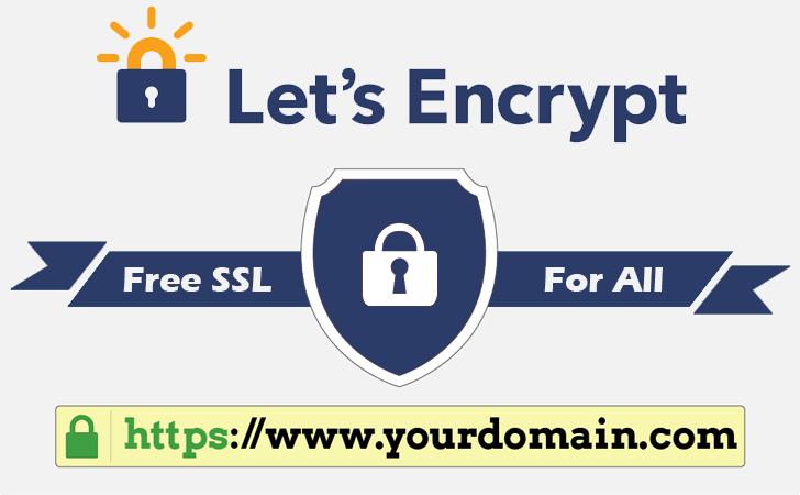 New Feature: Let's Encrypt (FREE SSL)